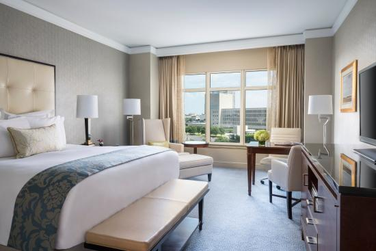 Newly renovated guest rooms at The Ritz-Carlton, Dallas