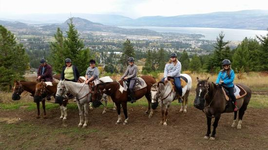 West Kelowna, Canadá: View from the trails