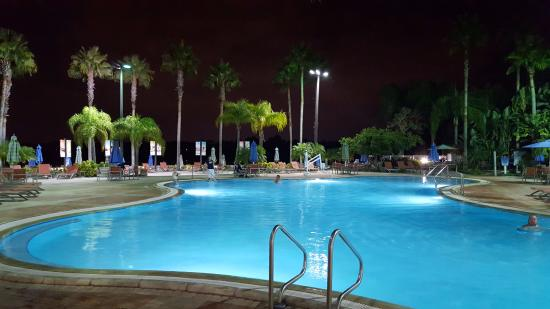 Indoor outdoor pool picture of bluegreen fountains for Hotels with indoor pools in florida