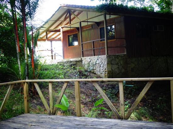 Pavones, Costa Rica: Wooden chalet