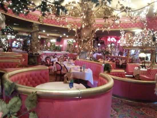 Madonna Inn Copper Cafe: salle a manger