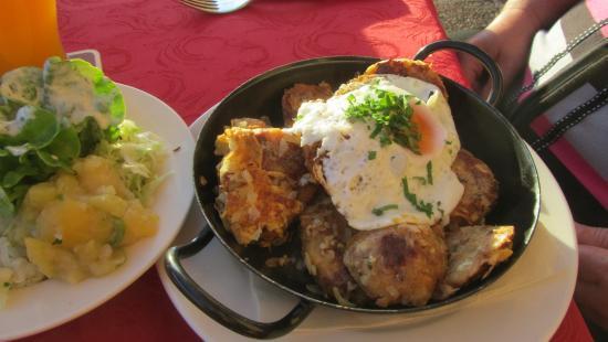 Absam, Áustria: Hausmannskost