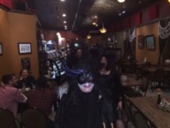 Vermillion, SD: Halloween Witches Walk (at Cafe Brule)