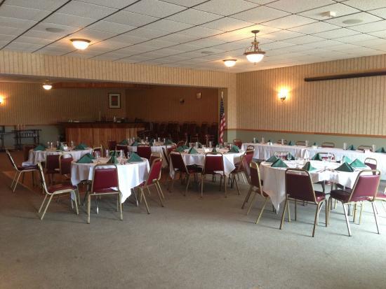 Morrisville, VT: Banquet Room