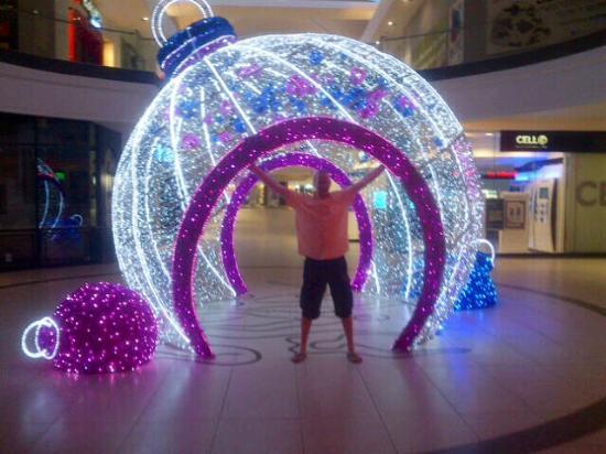 Cresta Shopping Centre: Christmas 2015 decorations