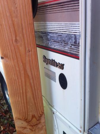 Lilliwaup, Waszyngton: Umm...support beam?