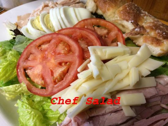 Grawn, MI: Chef salad
