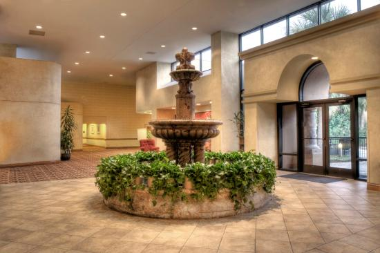 Indoor Water Fountain - Picture of MCM Elegante Hotel, Beaumont ...