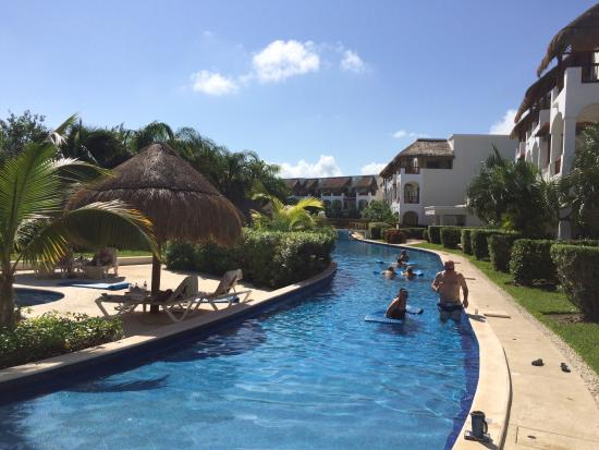 valentin imperial riviera maya golden suite swim out pool