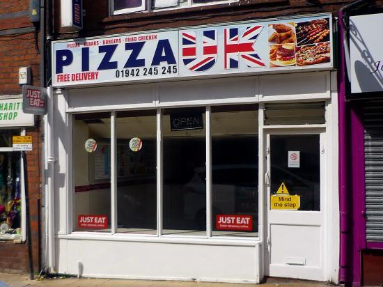 Pizza Uk Wigan Restaurant Reviews Photos Phone Number