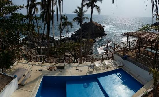 Cocos Camp: Vista majestuosa