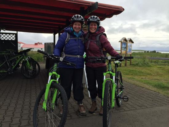 Hike and Bike : We rented bikes for our self-guided day tour