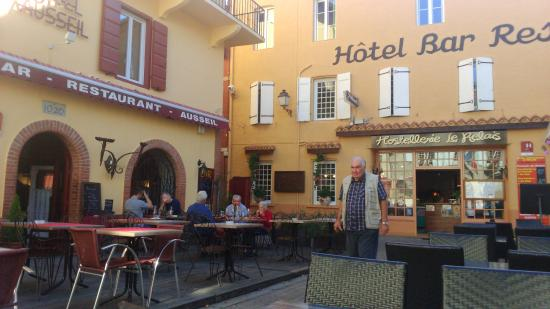 Hotel Restaurant Hostellerie le Relais: la terrasse
