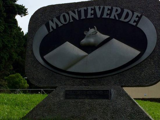 Monteverde Cheese Factory : Signage