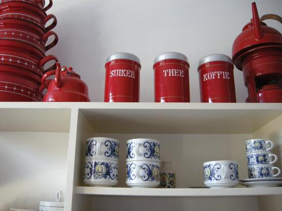 The Collector Bed & Breakfast: An interesting array of kitchen collectibles
