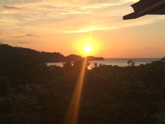 Dreams Las Mareas Costa Rica: Sunset from Preferred Club Junior Suite Ocean View