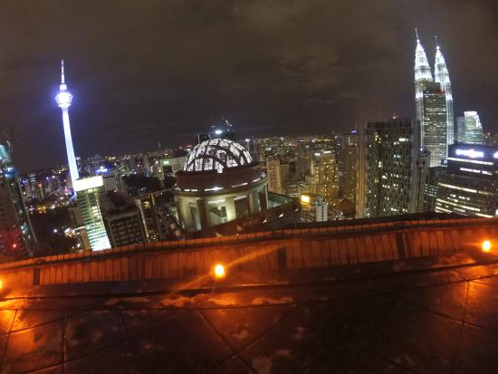 The View - Picture of Heli Lounge Bar, Kuala Lumpur - TripAdvisor Heli Lounge Bar Review on