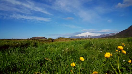 Snaefellsbaer, Исландия: The Glacier. Snæfellsjökull.