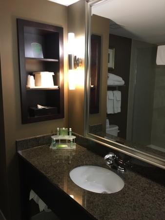 Holiday Inn Express Hotel & Suites Kingston: Bathroom