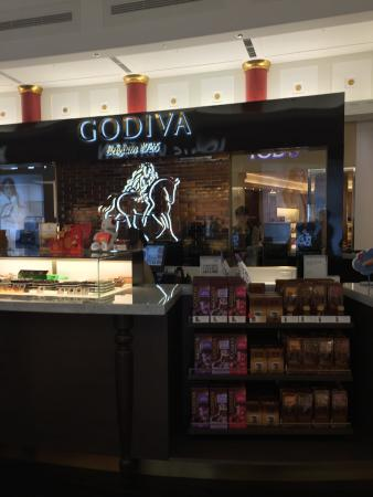 Godiva Cafe T Galleria