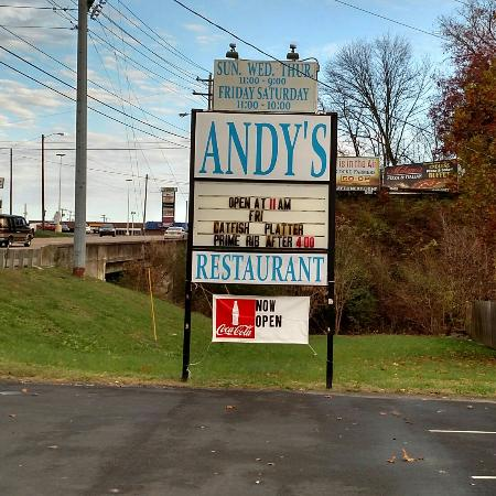 Andy 39 s restaurant american restaurant 571 w broadway for Dining in newport tn