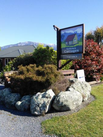 Kaikoura Cottage Motels: Entrance