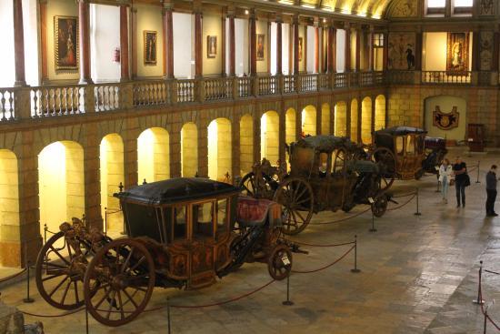 Museu Nacional dos Coches: vista desde un balcón