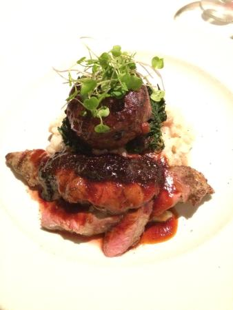 Blue Restaurant & Bar: Duo of Wild Boar