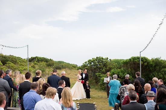 Clifftop Boutique Accommodation: Clifftop wedding
