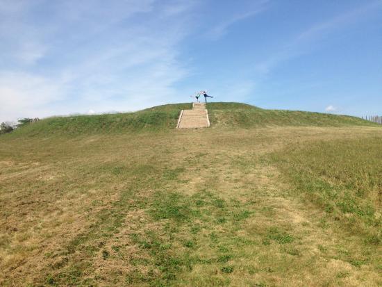 Aztalan State Park: Mound/Pyramid
