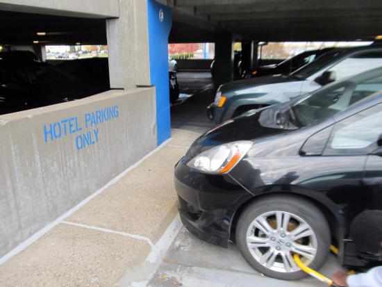 Don't Park here - Picture of Crowne Plaza AiRE MSP Airport