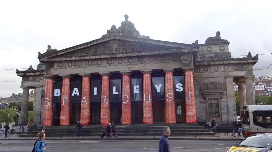 Royal Scottish Academy: Fachada Principal