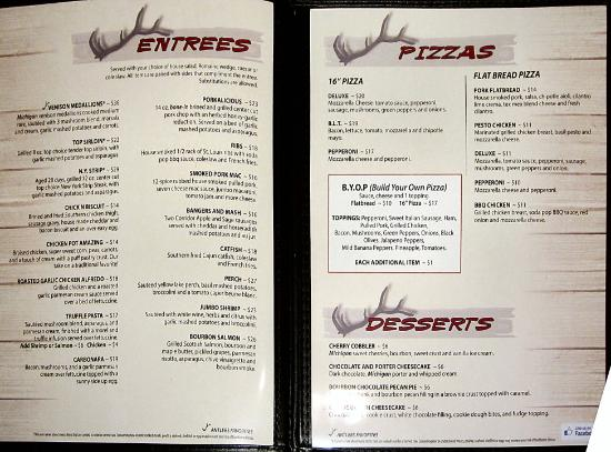 Stanwood, MI: Menu 2