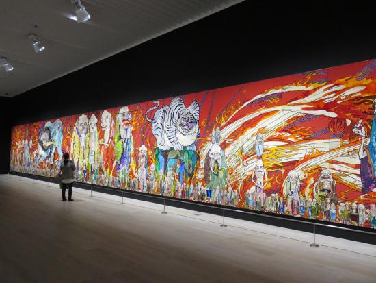 Takashi Murakami exhibit - Picture of Mori Art Museum, Minato - TripAdvisor