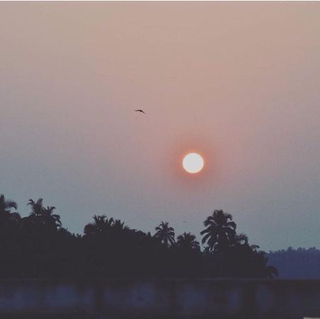 Kerkar Art Complex: Небо над Калангутом