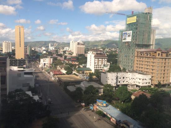 Picture of mandarin plaza hotel cebu city - Mandarin hotel cebu swimming pool ...