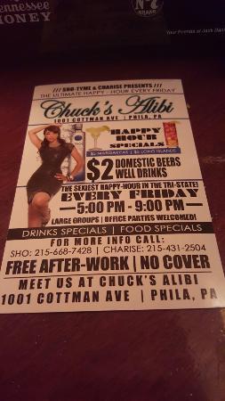 Chuck's Alibi