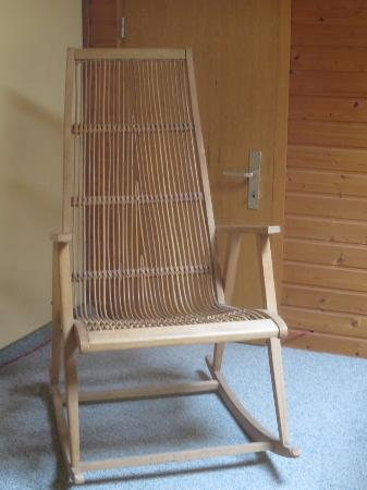Fockbek, Alemania: nice rocking chair for guests