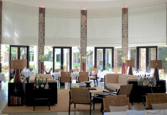 Amansara: Dining area
