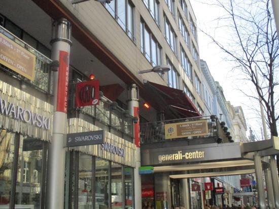 Certo Caffe: Caffee Certo (Balkon)