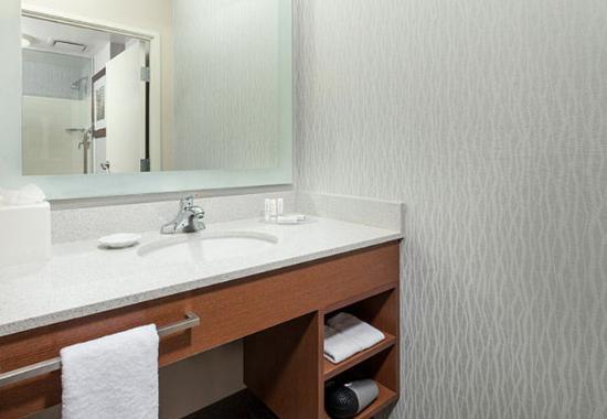 Suite bathroom vanity fotograf a de springhill suites for Bathroom vanities chicago suburbs