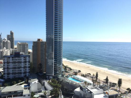 Window View - Paradise Centre Apartments Surfers Paradise Photo