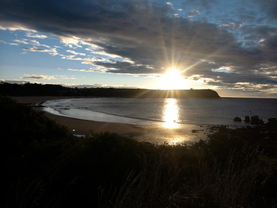 Beautiful sunset Coles Beach...