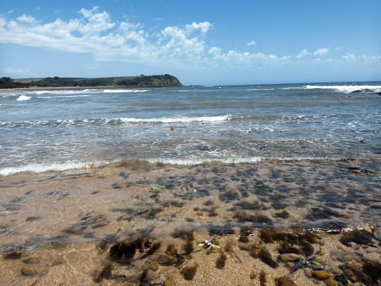 Beautiful Coles Beach....tide on its way out...