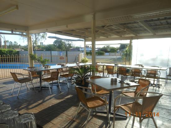 Mundubbera, Avustralya: Al Fresco Dining