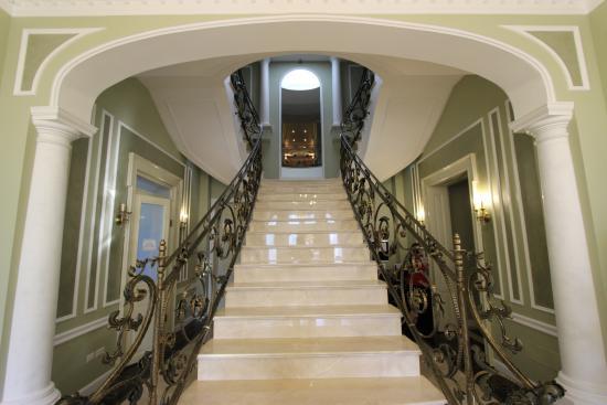 Focsani, Romania: Beautiful staircase to rooms