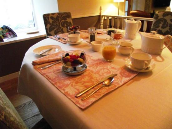 Spittal, UK: Leisurely breakfast at The Auld Post Office