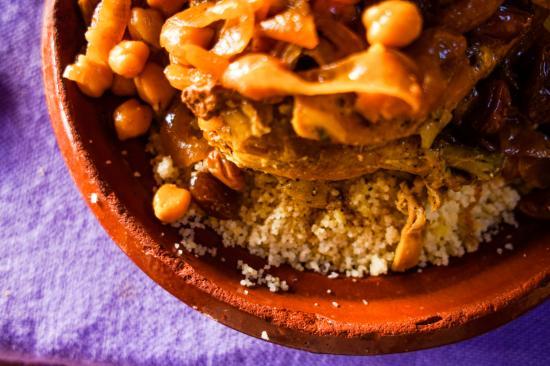 Aladdin: Chicken couscous