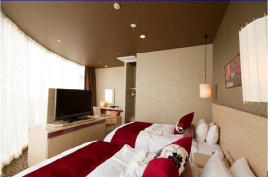 Hotel Vista Premio Kyoto: Deluxe Corner Twin