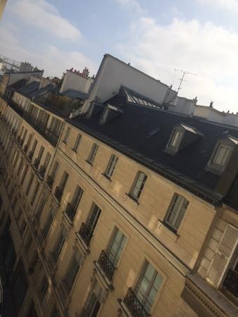 Hôtel Lautrec Opera: camera con vista tetti